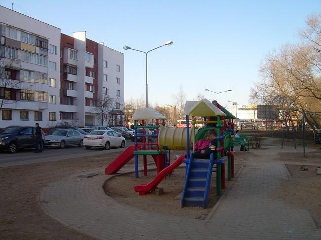 детская площадка, витебск, московский проспект