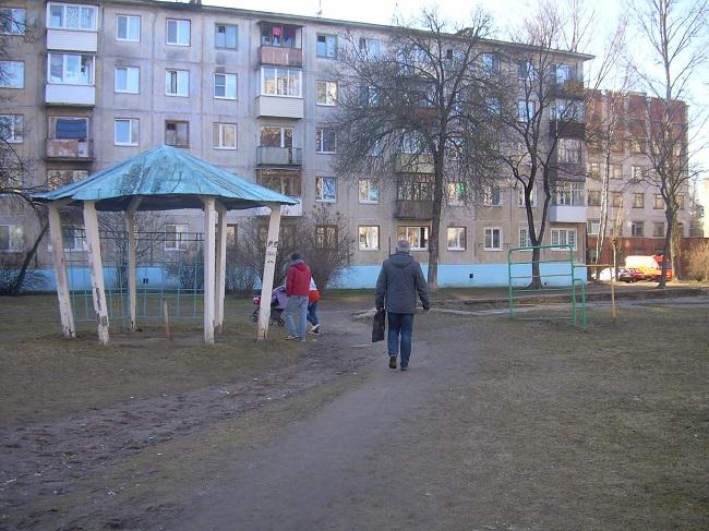 двор на московском проспекте, витебск