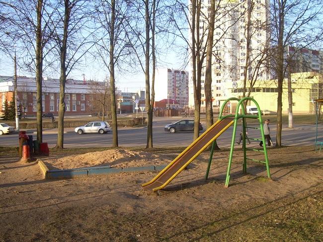 детская площадка, Витебск, улица Правды