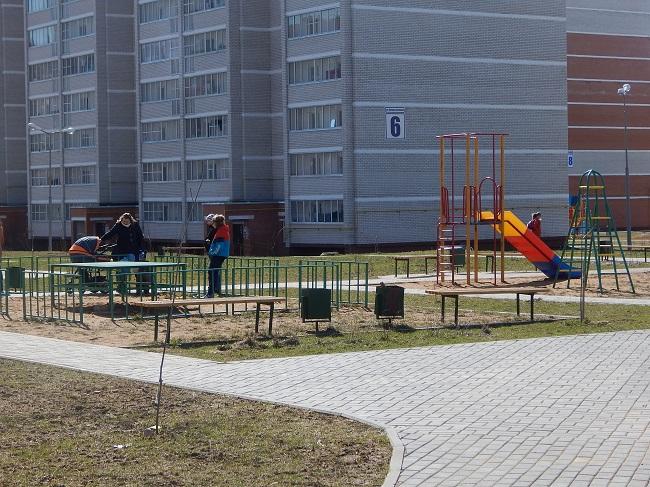 детская площадка, билево