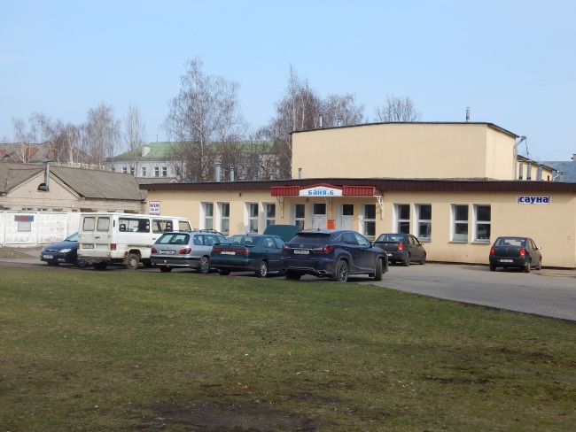 баня№6, баня в Витебске, баня на Жесткова