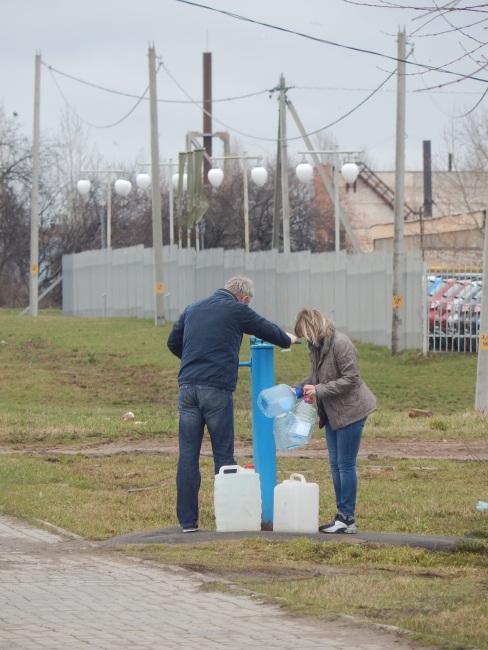 колонка на улице гагарина, вода из колонки