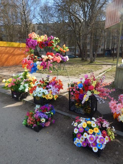 искусственные цветы, витебск