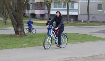 велосипед, велопрокат, витебский дворик