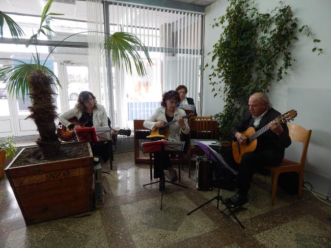 оркестр, библионочь, ночь культурных открытий в новополоцке