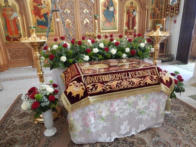 монастырь, витебск, иконостас