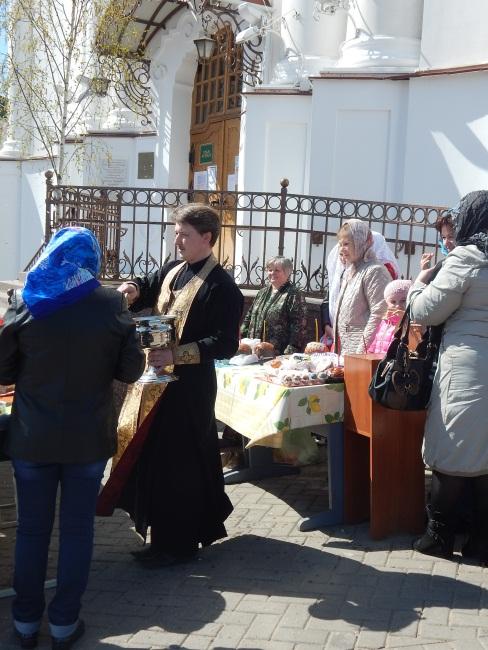 куличи, воскресенская церковь, пасха