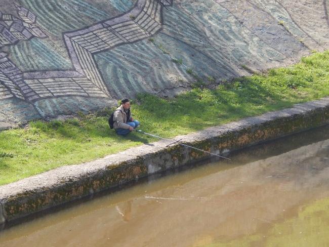 рыбалка, витьба, юбилейный мост