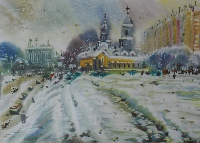 Гумен, Георгий, пейзаж, Витебск, Корженевский