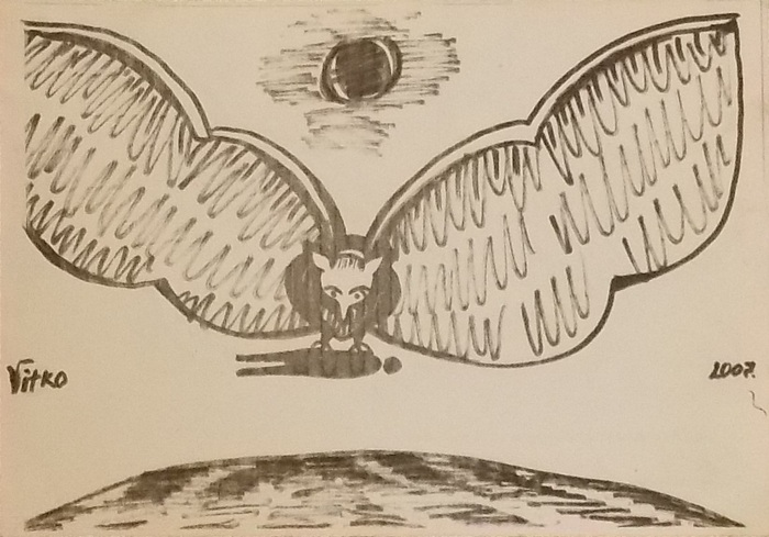 Витко, графика, мистицизм, Корженевский