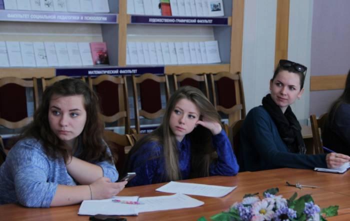 студенты, ВГУ Машерова, практика