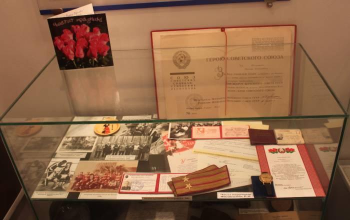музей почетных граждан города Витебска, экспозиция, стенд, Филипенко