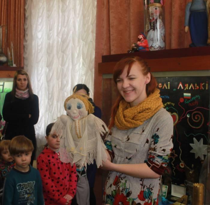"""театр """"Лялька"""", куклы, экскурсия"""