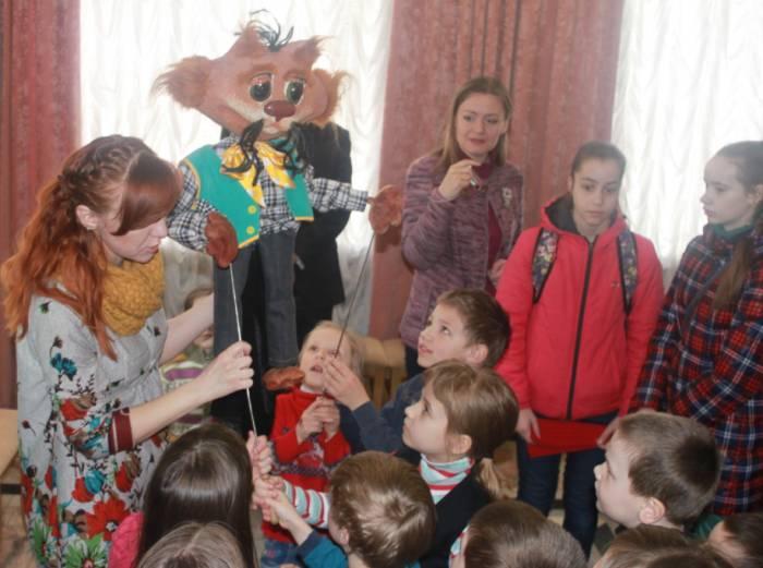 "театр ""Лялька"", куклы, Алена Субботина"