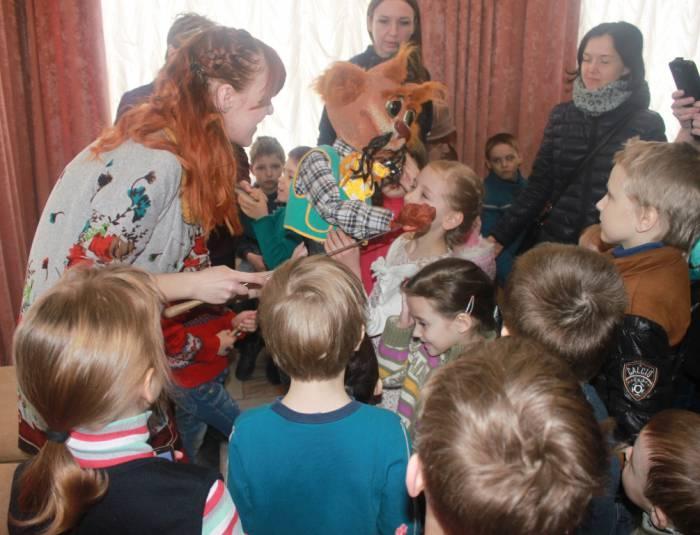 """театр """"Лялька"""", экскурсия, куклы"""