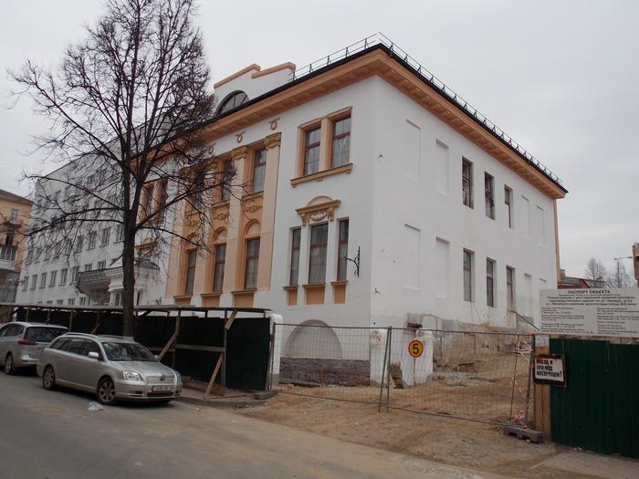 Витебск, ВНХУ, Корженевский