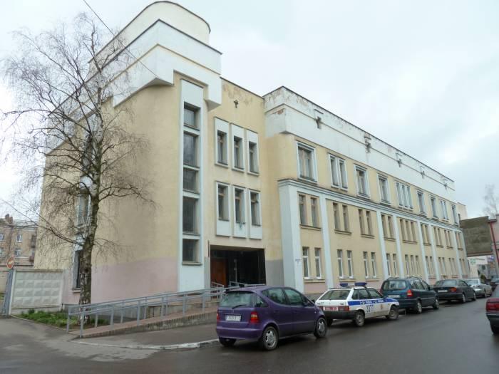 Витебский областной клинический центр психиатрии и наркологии.