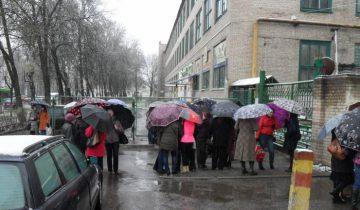 """22 апреля проходная завода была закрыта. Фото """"БелЦентроИмпЭкс"""""""