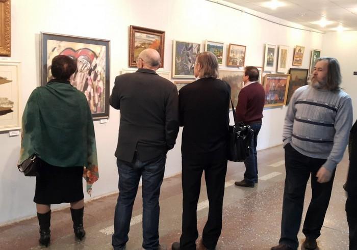 Витебск, выставка, художники, Лалыко, Корженевский