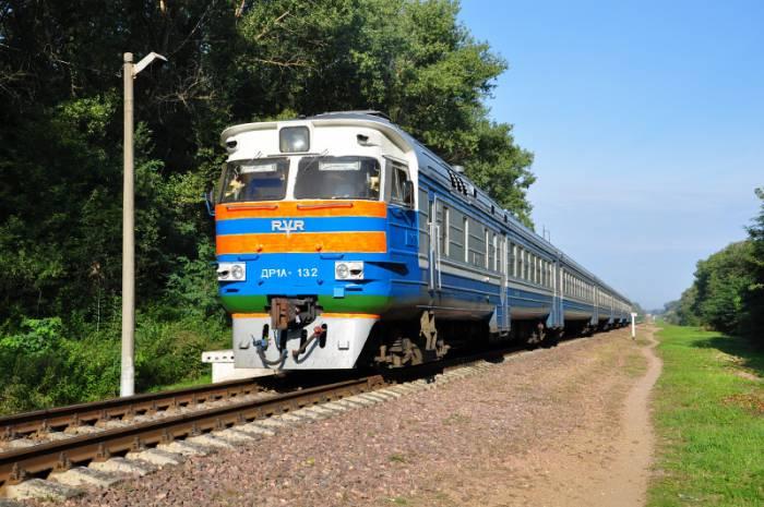 дизель поезд