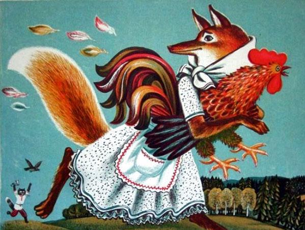 На Беларуси лиса символизировала женское начало. Источник polyana-skazok.org.ua