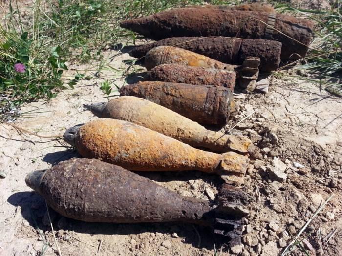 снаряды и мины