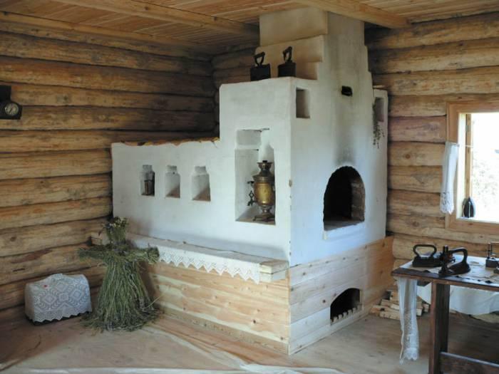 Русская печь - символ тепла, уюта и жизни. Фото solored.ru