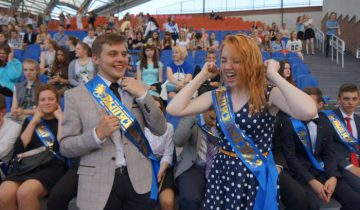 Биение молодых сердец, эйфория от окончания школы. Фото Алена Евдокимова