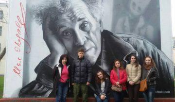 Граффити студентам удалось отыскать с трудом. Фото из личного архива Ольги Путеевой