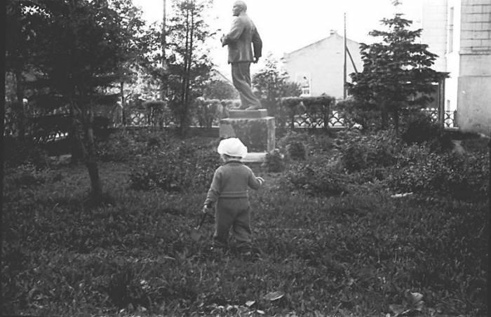 памятник ленину исчезнувший, витебск