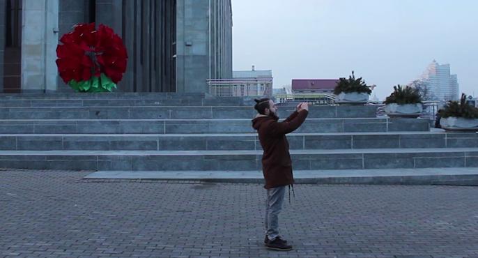 Амерыкан бой Н. Лаврецкий Кадр из фильма