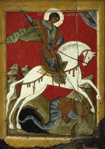 Георгий, змий, чудо, православие, икона, Корженевский