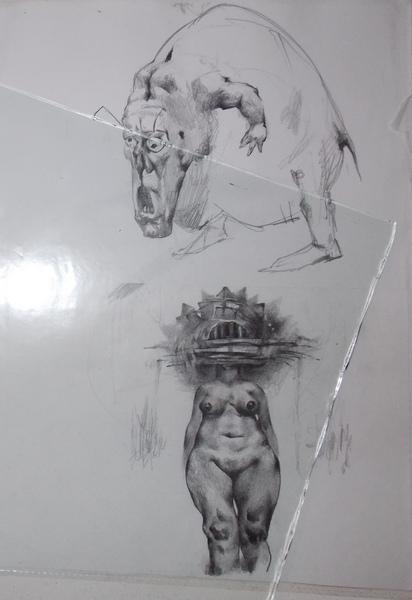Сидоров, графика, Корженевский