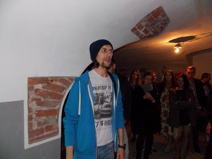 На открытии выставки Игоря Сидорова. Фото Георгия Корженевского