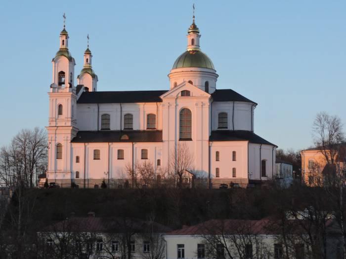 витебск, успенский собор, Двина