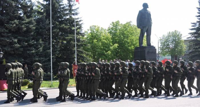лепель, день победы, солдаты