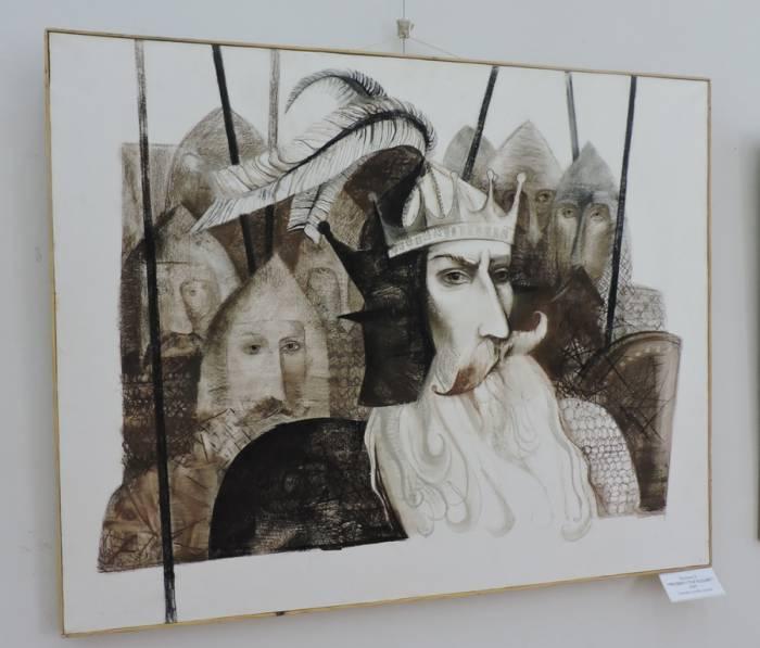 мастацкі музей, выстава, альгерд