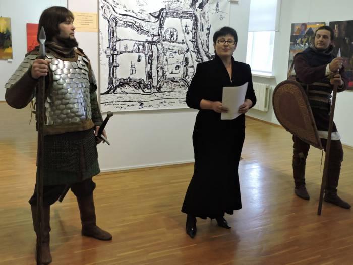 мастацкі музей, адкрыццё выставы