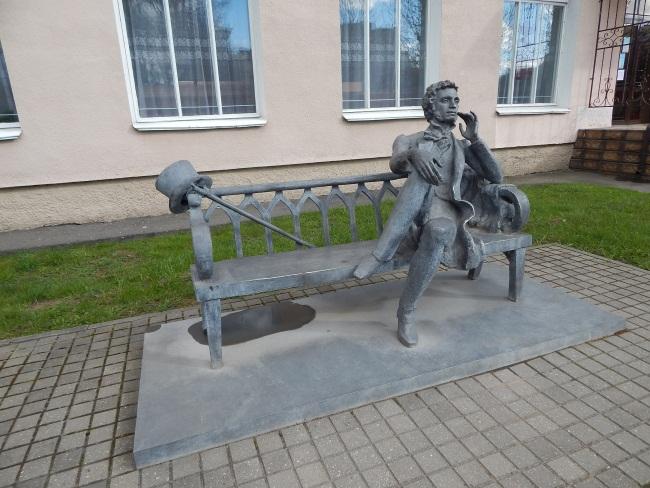 памятник пушкину в новополоцке