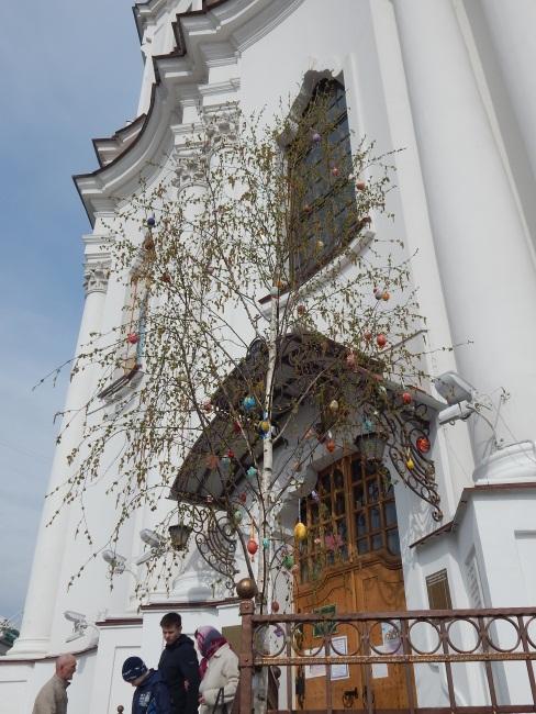 пасха, Воскресенский храм
