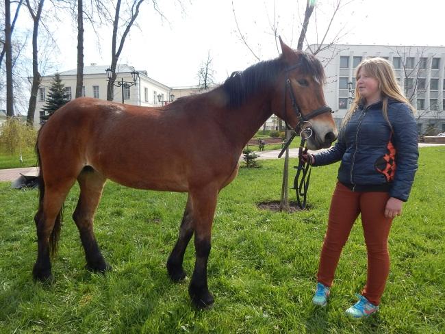 пасха, лошадь, пушкинский парк