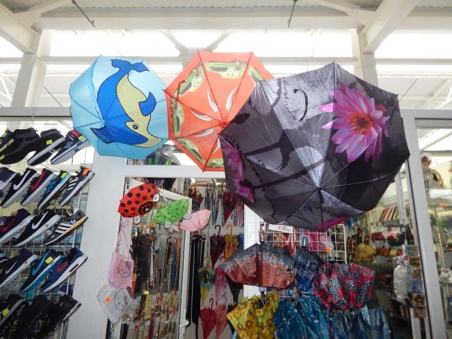 зонты, смоленский рынок