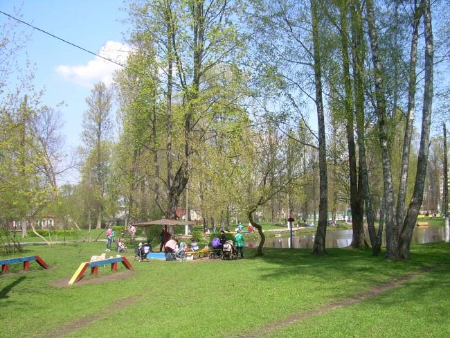парк железнодорожников, витебск