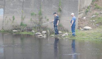 рыбаки, мост блохина