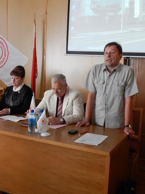 красный крест, михаил гусаченко