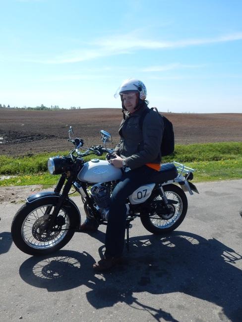 байкеры, мотоцикл с рыбкой, с Богом по дорогам!