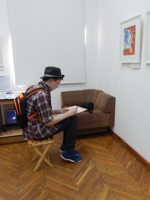 ночь музеев в арт-центре марка шагала