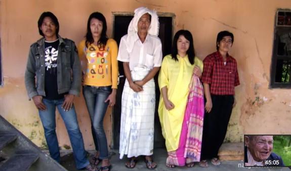 Биссу, Индонезия, гендер, Корженевский