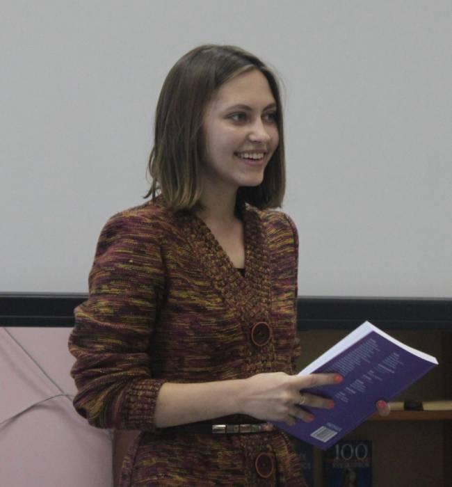 """прэзентацыя """"ратушы"""", Марына Манака"""