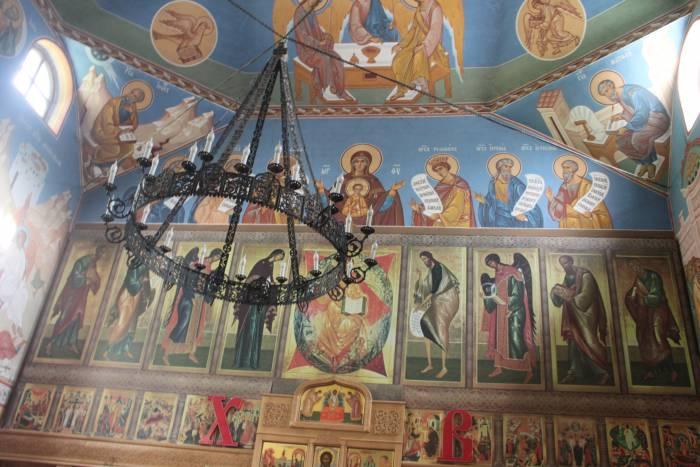 витебск, успенская церковь, внутренне убранство